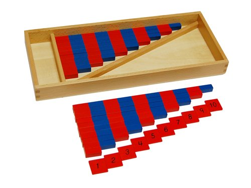 Montessori Small Numerical Rods