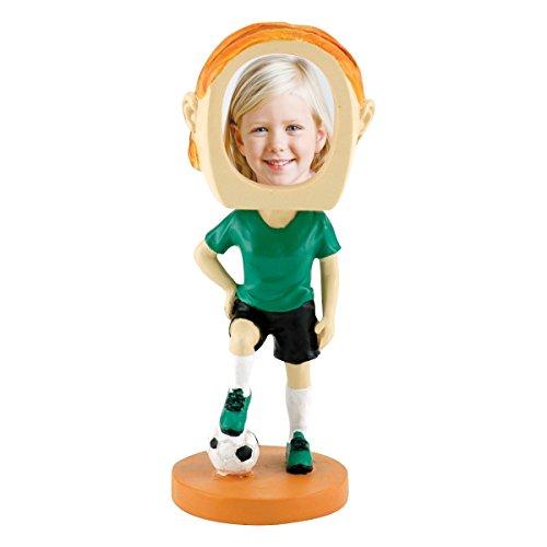 Neil Enterprises, Inc Female Soccer Player Photo Bobble Head