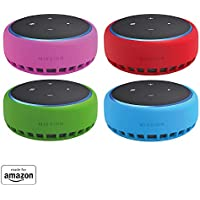 Mission Cables Skin for All-new Echo Dot (3rd Gen) (Bahama Blue)