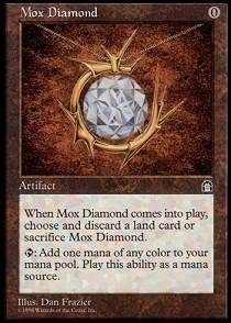Magic: the Gathering - Mox Diamond - Stronghold by Magic: the Gathering