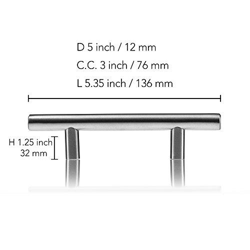 Kitchen Cabinet Handles (Stainless Steel)