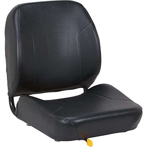 K & M Uni Pro Tractor Seat - Black, Model# 7726