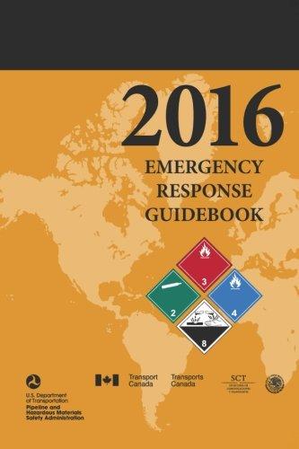 Emergency Response Guidebook 2016