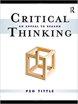 Book Critical Thinking: An Appeal to Reason