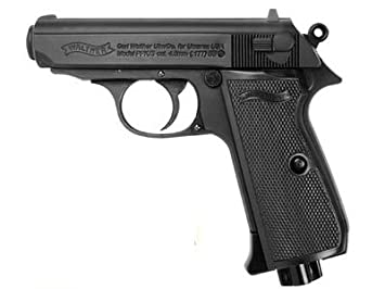 amazon com walther ppk s black bb gun 0 177 caliber everything else rh amazon com German Walther PPK 7.65 Walther PPK 9Mm