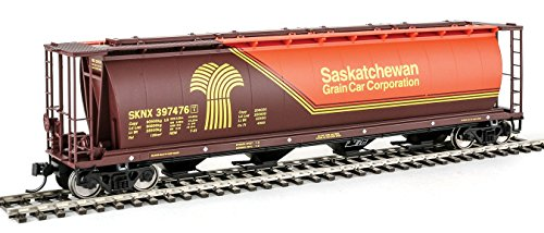 Walthers HO Scale 59' Cylindrical Covered Hopper Saskatchewan Grain SKNX (Scale Cylindrical Covered Hopper)