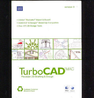 Turbocad Mac V3 2D Cad for Mac [Old Version] by IMSI