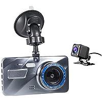 Kamera Samochodowa GT900 Przód i Tył, Full HD 1080p 170 Stopni Szeroki Kąt Widzenia, Czujnik Ruchu, Wideorejestrator