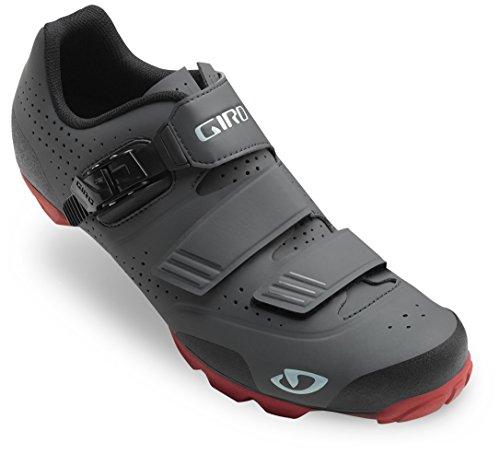 Giro Privateer R Cycling Shoe - Men's Dark Shadow/Dark Red, 42.0