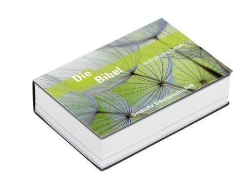 Die Bibel nach Martin Luther: Pocketausgabe im Querformat