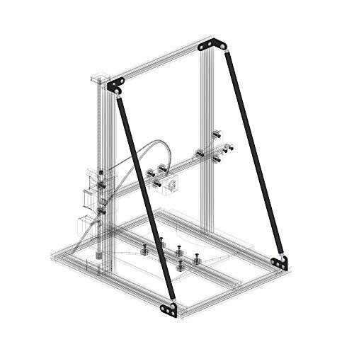 Gimax 3D Printer Tie Kit Bracket for Creality3d CR-10/10S/10S4 Alfawise U20 TEVO Tornado AnetE12 DIY Desktop Print-SCLL…