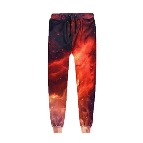 Allywit Pants Pocket Full Length 3D HD Print Men Joggers Pants Trousers by Allywit (Image #1)