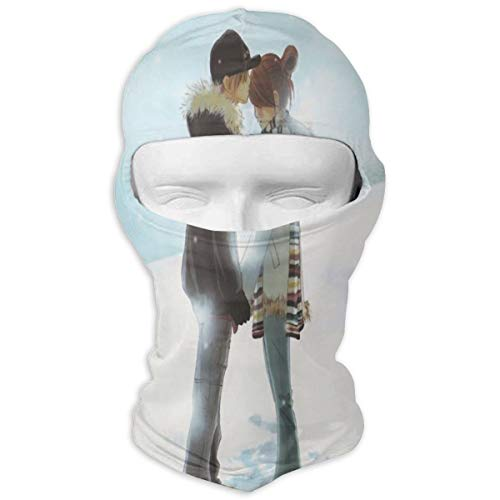 Balaclava Cute Love Anime Full Face Masks UV Protection Ski Hat Mens Headcover for Outdoor