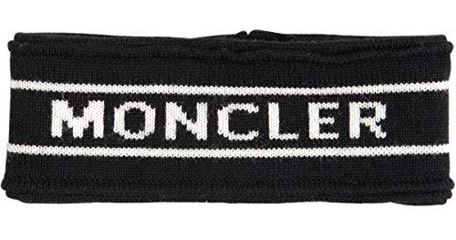 Moncler Women's Black Logo Headband -