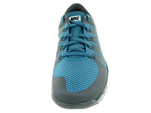 Nike Free Trainer 5.0 Running Shoes (Cool Grey, Stratus Blue) Sz. 8