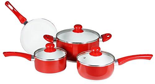 Concord Cookware 7 Piece Ceramic Non-stick Cookware Set