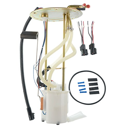 A-Premium Electric Fuel Pump Module Assembly for Ford E-150 E-250 E-350 Econoline Club Wagon 1992-1996 4.9L 5.0L 5.8L 7.5L Rear Tank Only E2282M ()