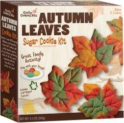 Autumn Cookie (Autumn Leaves Sugar Cookie Kit)