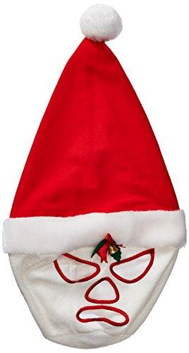 Bcozy Costumes Amazon (Bcozy Men's Animal Hat Santa Hero Christmas Mask, Red/White, Standard)