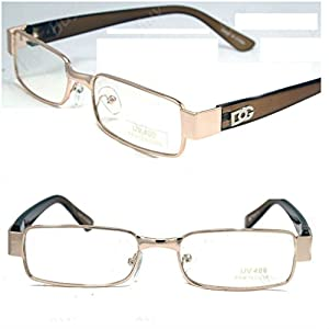 New Mens Womens DG Clear Lens Frames Glasses Designer Fashion Optical RX Nerd 32