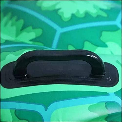 インフレータブルフローティングベッドクリエイティブカメ形状環境pvcスイムリング救命浮輪ビーチマットラウンジャーチェア用大人と子供