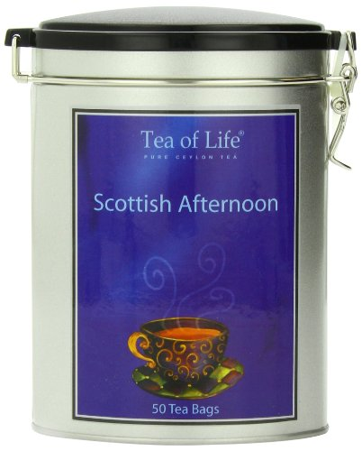 Tea of Life Black Tea, Scottish Afternoon, 2.65 Ounce (Tin Oval)
