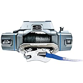 Superwinch S102742 EXP8SI 12000 Lb Winch Sythetic Rope Hawse