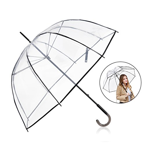 Rainbrace Clear Umbrella Big Arc 52