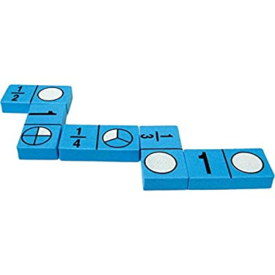 Teacher Created Resources (20627) Foam: Fraction Dominoes: Office Products
