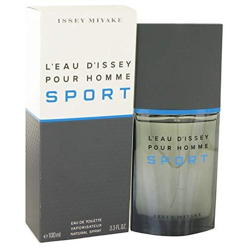 Iŝsêy Miyâķe L'Eau d'Issey Pour Homme Sport Eau De Toilette Spray 3.3 FL. OZ./100 ()