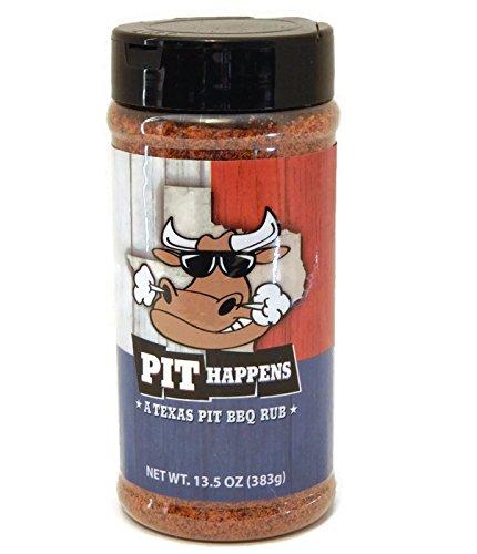 Pit Happens - A Texas Pit BBQ Rub - Large 13.5 oz