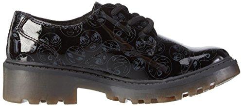 Geox Niñas Schwarz Casey Para J Girl De M Cordones Zapatos blackc9999 Derby rgrzqwvO8