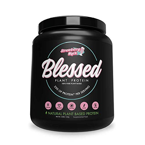 BLESSED Plant Based Protein Powder – 23 Grams, All Natural Vegan Protein, 2 Pounds, 30 Servings (Vanilla Chai) 3