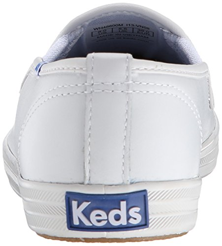 Original Sneaker Slip Keds Women's Champion White On Leather Leather q4wCE6yrC