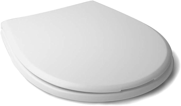 Tatay Olympia - Asiento y Tapa de WC Universal para el Inodoro. Adaptable y Fácil de Instalar.