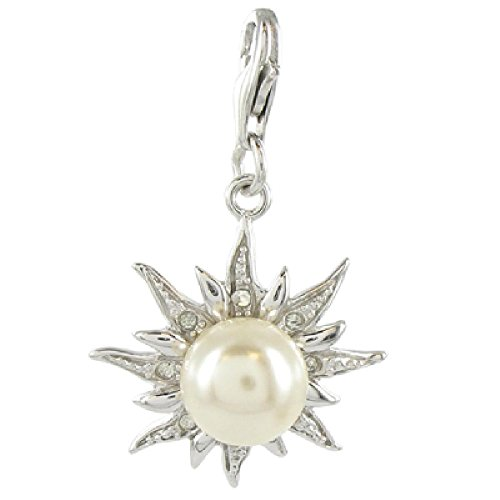 Oscaro Silver Charms Argent 925/1000 Soleil Perle