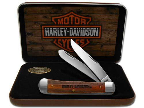 Item No 52187 WR Case And Sons Cutlery Harley-Davidson Trapper