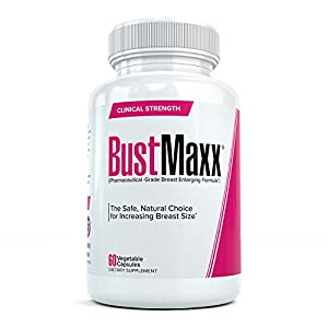BustMaxx: The World's Top Rated Bust and Breast Enhancement Pills - Natural Breast Enlargement and Female Augmentation Supplement Designed to Increase Breast Growth and Enhance Bust Size, 60 Capsules Enhancement Pills - 41NYywm3KXL - Enhancement Pills