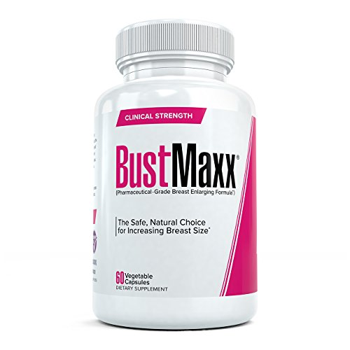 Bustmaxx: Most Trusted Breast Enhancement Pills, 60 Caps (Period Twice A Month After Plan B)