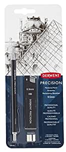 Derwent Precision Mechanical HB Pencil Set with Refills (0.5mm)