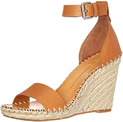49b949543d6 Dolce Vita Women's Noor Wedge Sandal tan Leather 8 M US: Amazon.com ...