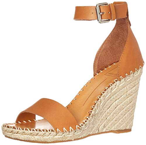 Dolce Vita Women's Noor Wedge Sandal tan Leather 9 M US