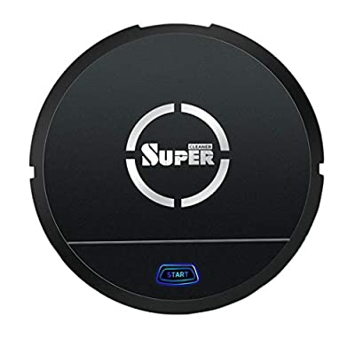Robot Vacuum Cleaner [Mopping, Sweeping & Vacuuming], Smart Robotic Vacuum Automatic Sweeper with Remote for Pet Hair, Carpet, Hardwood Floors, Tile
