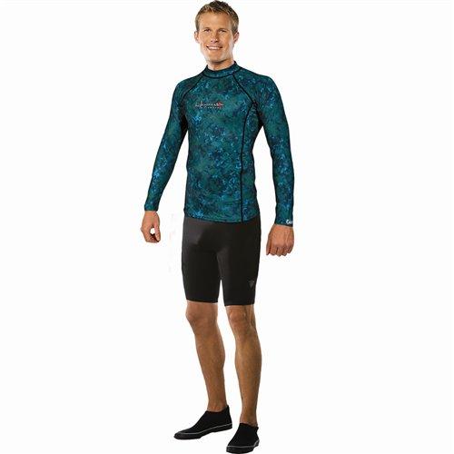 Henderson Camo Lycra Rashguard Shirt - 2X-Large
