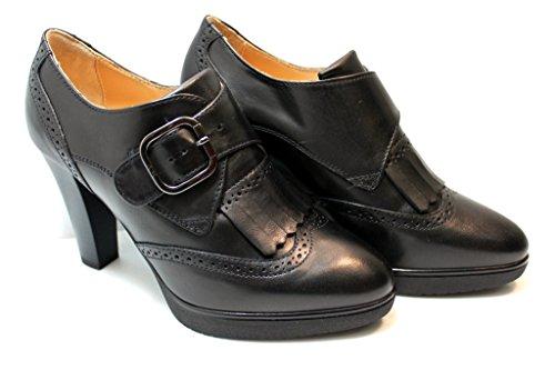 Schwarz Court Schuhe Damen Nero Giardini zHASx6
