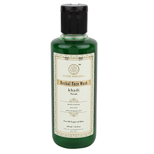 KHADI - Herbal Face Wash Neem - 210ml