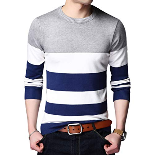 Chaud Pullover Image23 Col Pull Hommes À Zkooo En Sweater Slim Tricot Comme Longues V Manches Hiver Automne Tops qP4v4wxXTn
