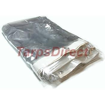 6 X 10 Clear Vinyl Tarp 20 Mil Porch Enclosures