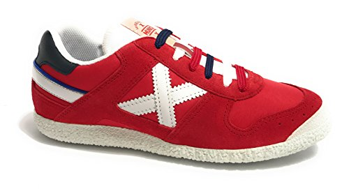 Munich Red Sneakers Goal 1376 ROSSO/ BIANCO