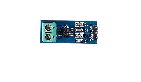 Amazon com: for Arduino Accessory 30A ACS712 Current Sensor Module